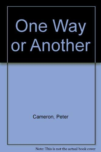 9780060914219: One Way or Another