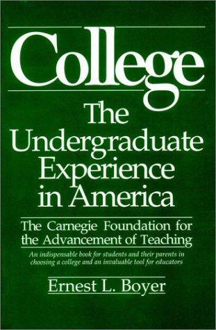 9780060914585: College: The Undergraduate Experience in America