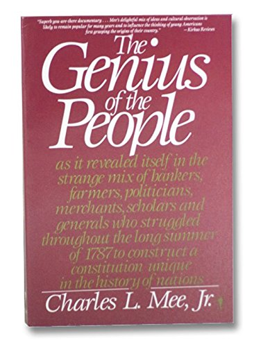 9780060914783: The Genius of the People