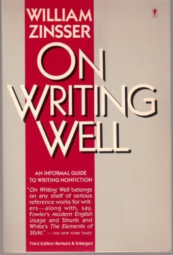 9780060914790: On Writing Well