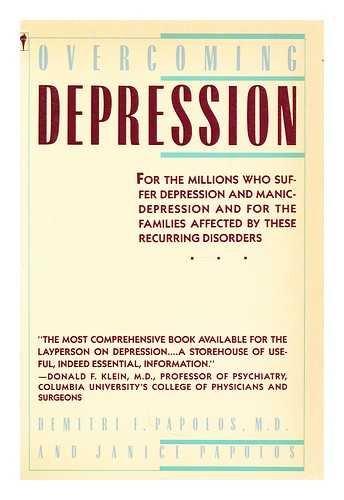 9780060914882: Overcoming Depression