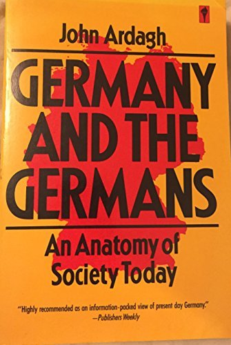 9780060915322: Germany and the Germans; an Anatomy of Society Today