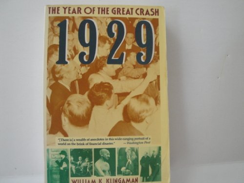9780060917029: 1929: The Year of the Great Crash