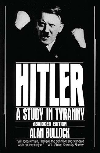 9780060920203: Hitler: A Study in Tyranny