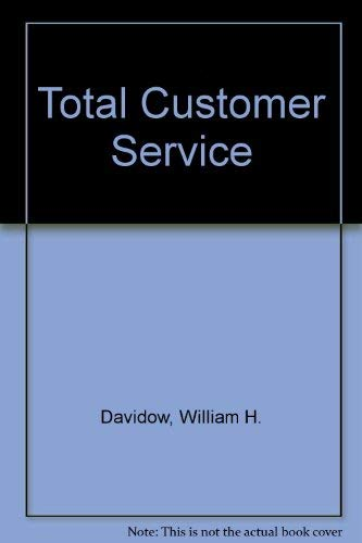 9780060920296: Total Customer Service