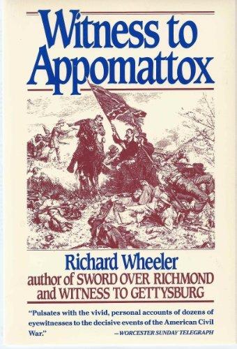 9780060920685: Witness to Appomattox