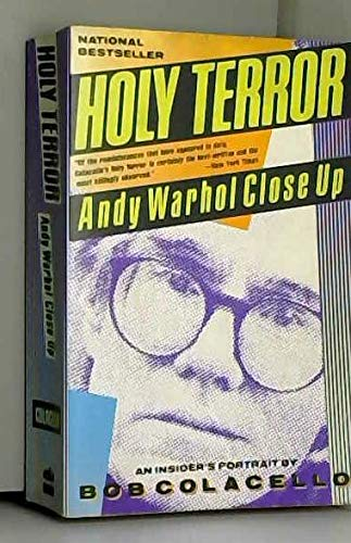 9780060920845: Holy Terror: Andy Warhol Close-Up