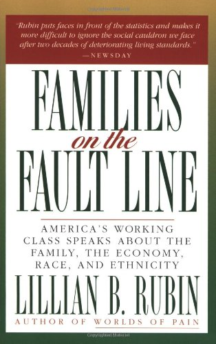 "an analysis of families on the fault line a book by lilian rubin Book extends into the early 1960s , the  in american pop culture  major earthquake on an unstable fault line""7 the two clashed because the self."
