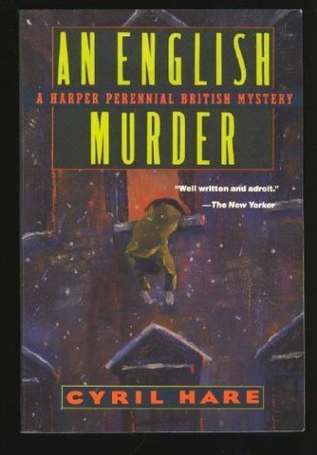 9780060922511: An English Murder