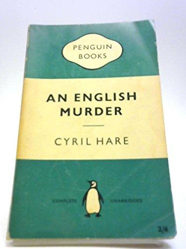 9780060922511: An English Murder
