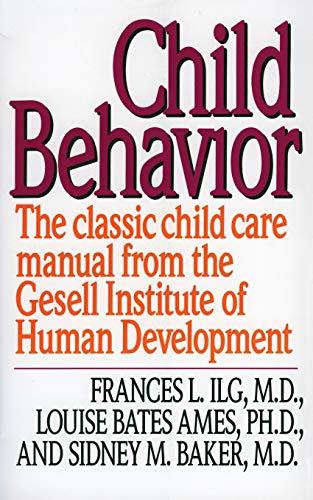 9780060922764: Child Behaviour