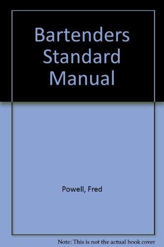 9780060923167: Bartenders Standard Manual