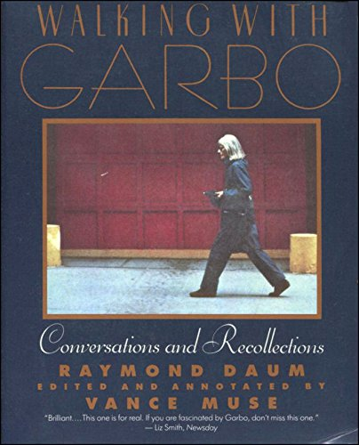 9780060923556: Walking with Garbo: Conversations and Recollections