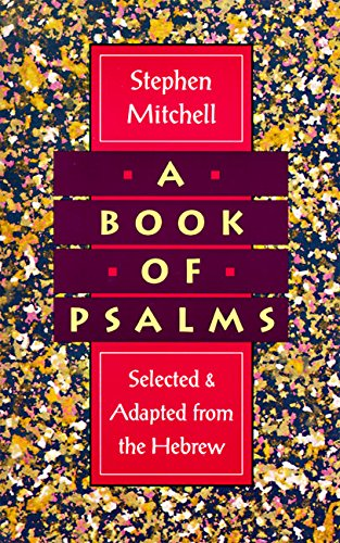 9780060924706: A Book of Psalms: Selected and Adapted from the Hebrew