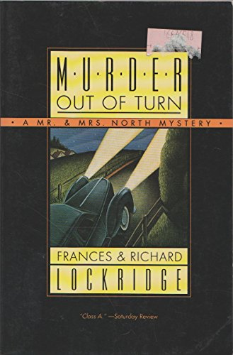 9780060924898: Murder Out of Turn (A Mr. & Mrs. North Mystery)