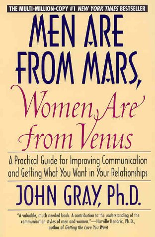 9780060926427: Men Are from Mars, Women Are from Venus : A Practical Guide for Improving Communication and Getting