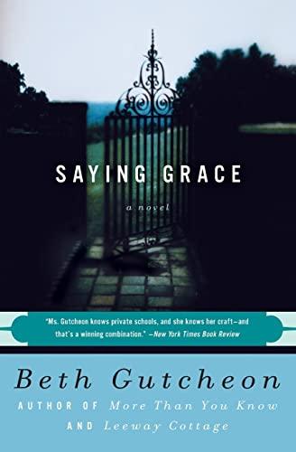 9780060927271: Saying Grace