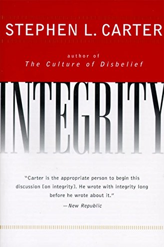 9780060928070: Integrity