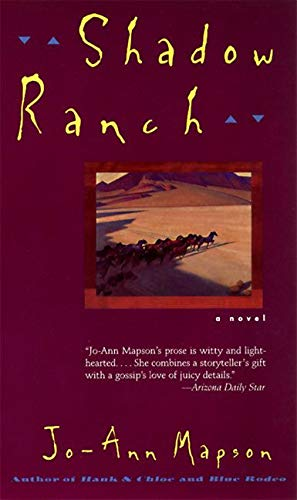 9780060928438: Shadow Ranch: Novel, A