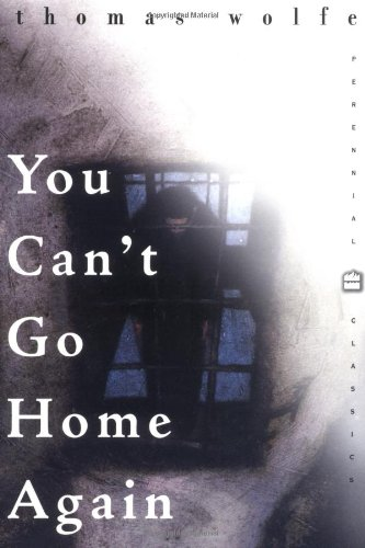 9780060930059: You Can't Go Home Again