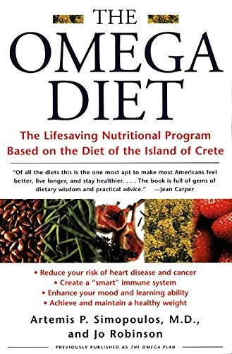 9780060930233: The Omega Diet: The Lifesaving Nutritional Program Based on the Diet of the Island of Crete