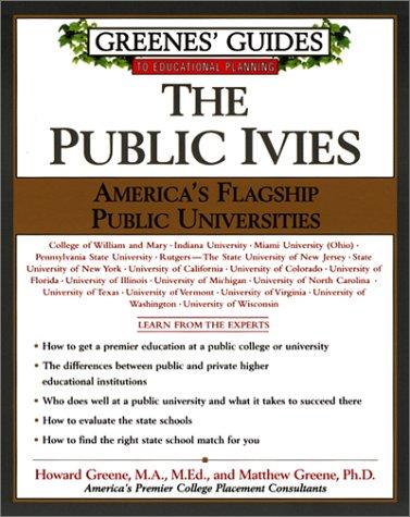 9780060934590: The Public Ivies: America's Flagship Public Universities