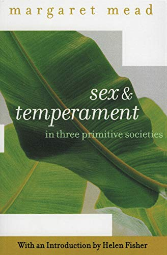 9780060934958: Sex and Temperament: In Three Primitive Societies