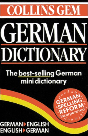 9780060935054: Collins Gem German Dictionary: German-English/English-German (6th Edition)