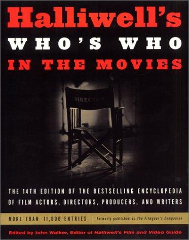 9780060935078: Halliwell's Who's Who in the Movies, 14e (Halliwells Whos Who in the Movies, 14th ed)