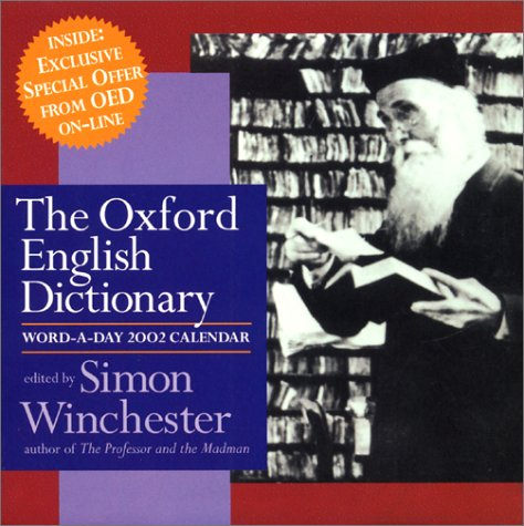 9780060935177: Oxford English Dictionary Word-A-Day 2002 Calendar