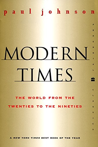 9780060935504: Modern Times: The World from the Twenties to the Nineties