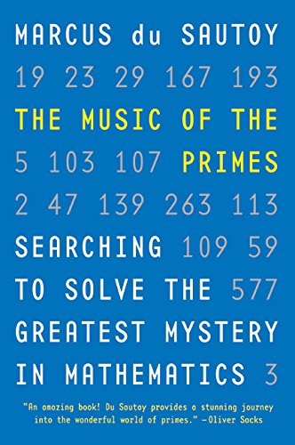9780060935580: Music of the Primes, The