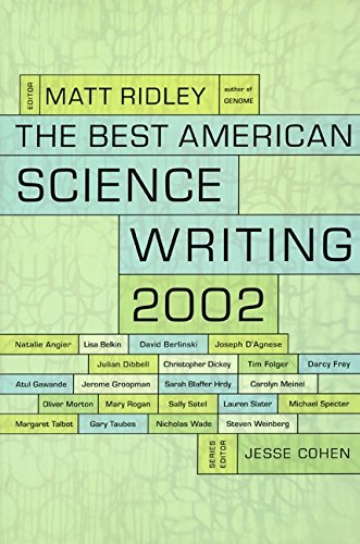 9780060936501: The Best American Science Writing 2002