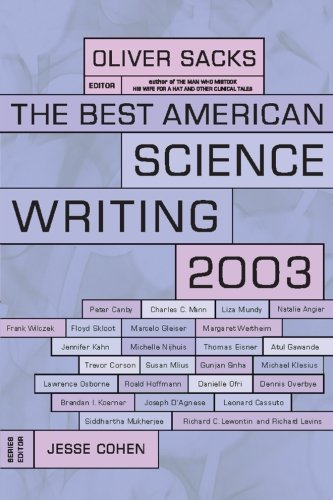 9780060936518: The Best American Science Writing 2003