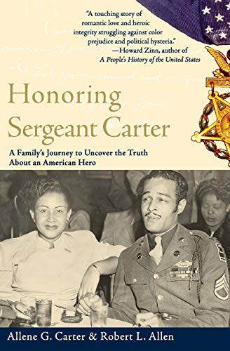 9780060936730: Honoring Sergeant Carter: A Family's Journey to Uncover the Truth About an American Hero