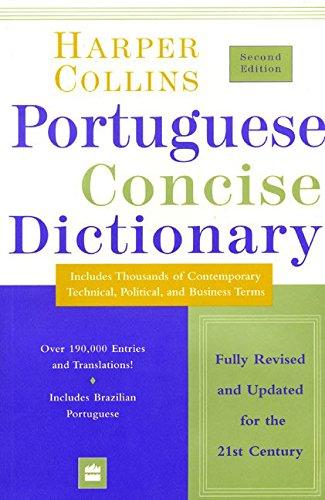 Collins Portuguese Concise Dictionary 2e (HarperCollins Concise: HarperCollins Publishers