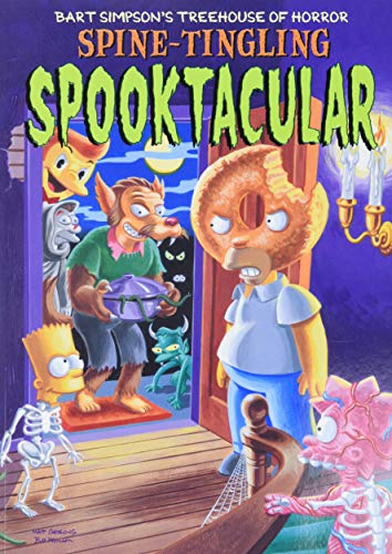 9780060937140: Bart Simpson's Treehouse of Horror Spine-Tingling Spooktacular