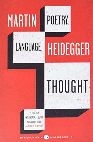 9780060937287: Poetry, Language, Thought (Harper Perennial Modern Thought)