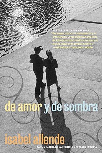 9780060951290: De Amor Y De Sombra