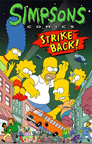 9780060952129: Simpsons Comics Strike Back