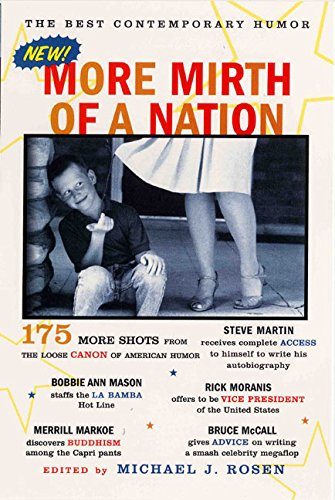 9780060953225: More Mirth of a Nation: The Best Contemporary Humor (James Thurber Book of American Humor)