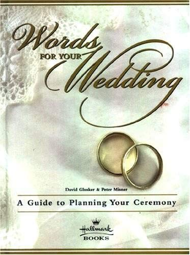 9780060954642: Words For Your Wedding Hallmark