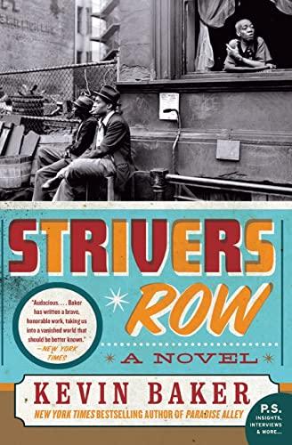 9780060955199: Strivers Row: A Novel