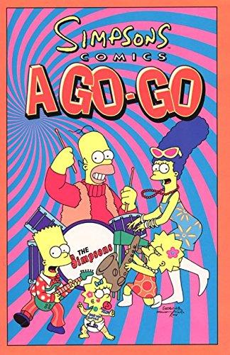 9780060955663: Simpsons Comics a Go-Go