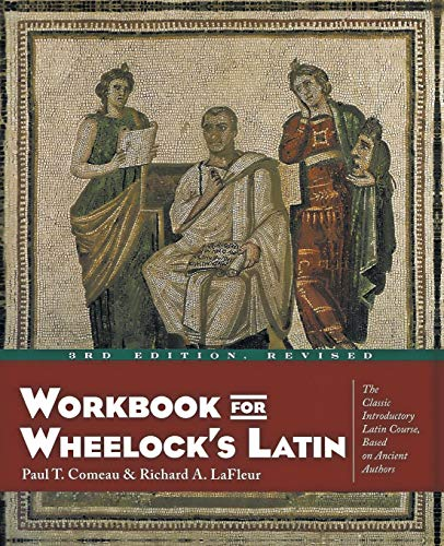 9780060956424: Workbook for Wheelock's Latin, 3rd Edition, Revised
