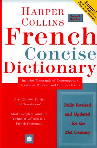 9780060956899: Collins French Concise Dictionary, 2e (HarperCollins Concise Dictionaries) (English and French Edition)