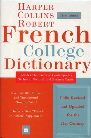 9780060956905: HarperCollins Robert French College Dictionary, 3e (Harpercollins College Dictionaries)