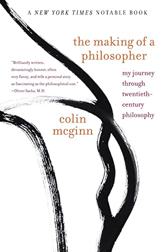 The Making Of A Philosopher,Colin McGinn 9780743231800