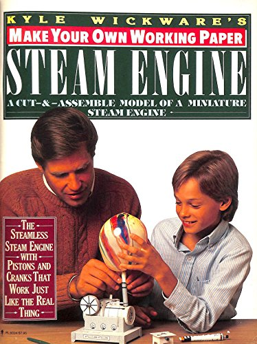 9780060960346: Make Your Own Working Paper Steam Engine (Make Your Own Paper Machine Series)