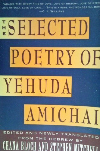 9780060960629: Selected Poetry of Yehuda Amichai